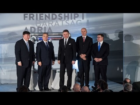 Orbán Viktor és Robert Fico átadta a Barátság I. kőolajvezeték felújított szakaszát