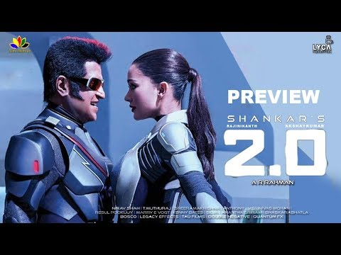 Enthiran 2 Point O | Preview | Rajinikanth | Shankar | AkshaiKumar | Amy Jackson | Lyca thumbnail