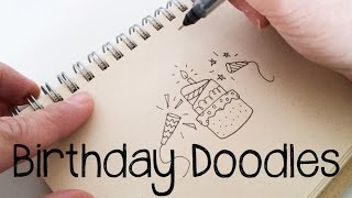 Birthday Doodles | Doodle with Me