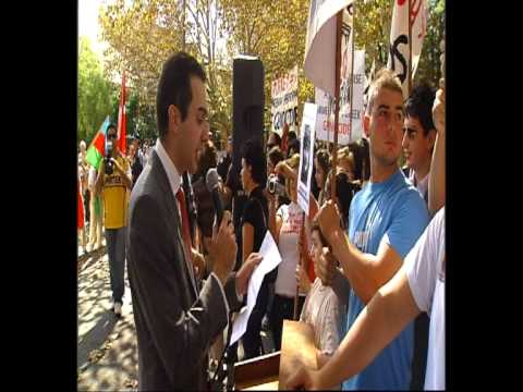 Sydney Protest Against Turkish Denial of Armenian Genocide