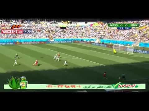 Iran vs Argentina 2014 Match Highlights - FIFA World Cup 2014 - Match 27