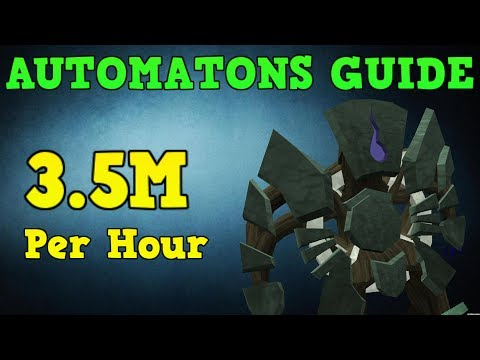 Automatons Guide – 3.5M per hour Money Making [Runescape 2014]