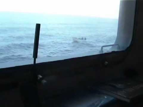 EXCLUSIVE!!! Seabourn Spirit Cruise Ship Pirate Attack 2005