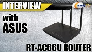 Newegg TV_ ASUS Dual-Band Wireless AC 1750 Gigabit Router Overview w/Interview