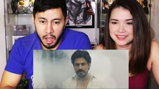 RAEES | SHAH RUKH KHAN | Trailer Reaction by Jaby & Achara!