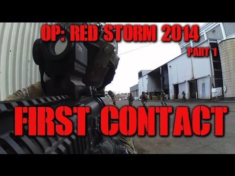DesertFox Airsoft Operation: Red Storm 2014 Part 1: First Contact (Elite Force 4CRS)