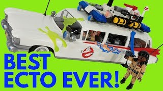 Playmobil Ghostbusters Ecto-1 Unboxing Assembly and Review! Playmobile Ghostbusters