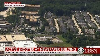 At least 5 dead in Annapolis Maryland; Shooter in custody