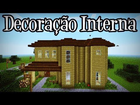 Tutoriais Minecraft: Decoração Interna da Grande Mansão