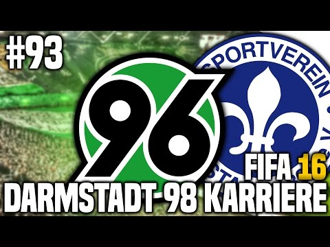 FIFA 16 KARRIEREMODUS #93 - HANNOVER 96! | FIFA 16 KARRIERE SV DARMSTADT 98 [S3EP11]