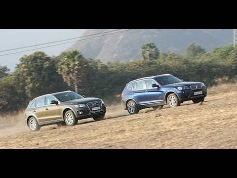 2013 Audi Q5 vs BMW X3 in India