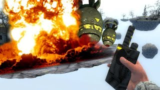 NUKES vs GMOD | Gmod Explosion School (Sandbox Fun)