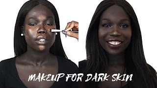 MAKEUP TUTORIAL FOR MELANIN/DARK SKIN WOMEN (Inspiratorial #7)