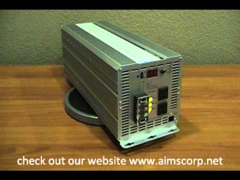 3000 Watt Power Inverter with Charger and Built in Automatic Transfer Switch by AIMS