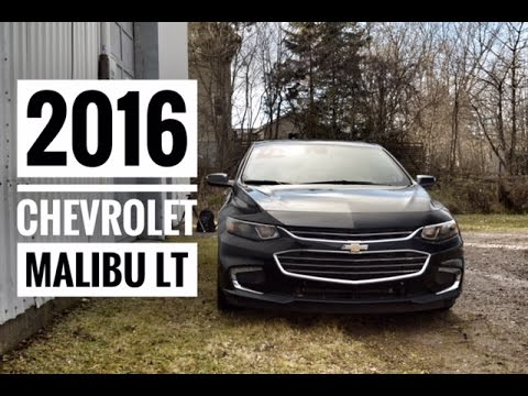 2016 Chevy Malibu LT Blacked Out True North Road Test and Review | Pye Chevrolet Truro Nova Scotia