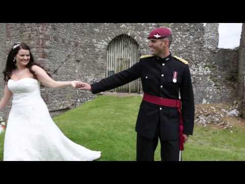 Oldwalls Gower - Weobley Castle wedding photographs Laura & Calvin