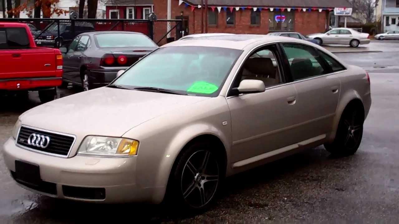 2001 Audi A6 Quattro Awd Sedan 4dr 4 2l V8 At Leather