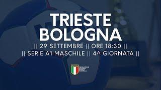 Serie A1M [4^ giornata]: Trieste - Bologna 30-27