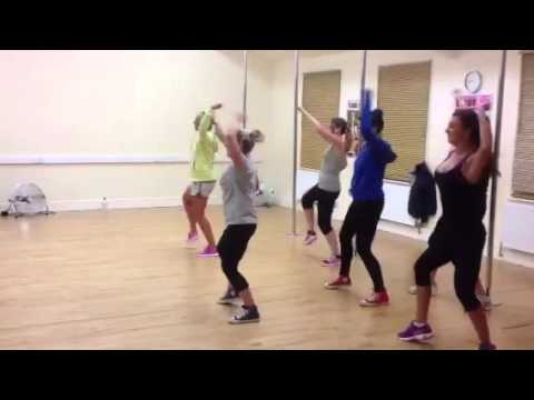 Timber Dance Routine, Zumba, Dance Aerobics  (pitbull & Kes video
