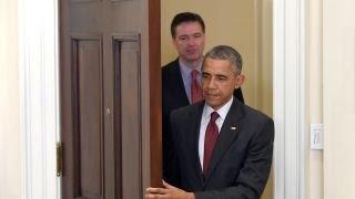 Obama sounds off on FBI Director Comey