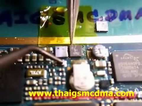 Remove and Paste IC EMIF N70 Nokia Without Hotair by agianmaker