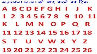 Coding Decoding | alphabet series को याद करे चुटकियों में और परीक्षा में समय बचाएं |