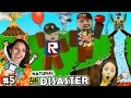Let's Play ROBLOX #5: SAVE FAMILY OR PLAY GAMES?  Natural Sur...
