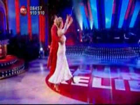 Sport Relief Does Strictly - Gemma Bissix & Darren Gough