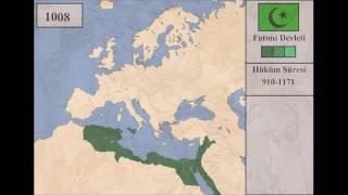 Kuruluştan Yıkılışa Fatımi Devleti 910-1171 [Harita]