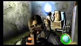 Resident evil 4 HACKS PLAYSTATON 2