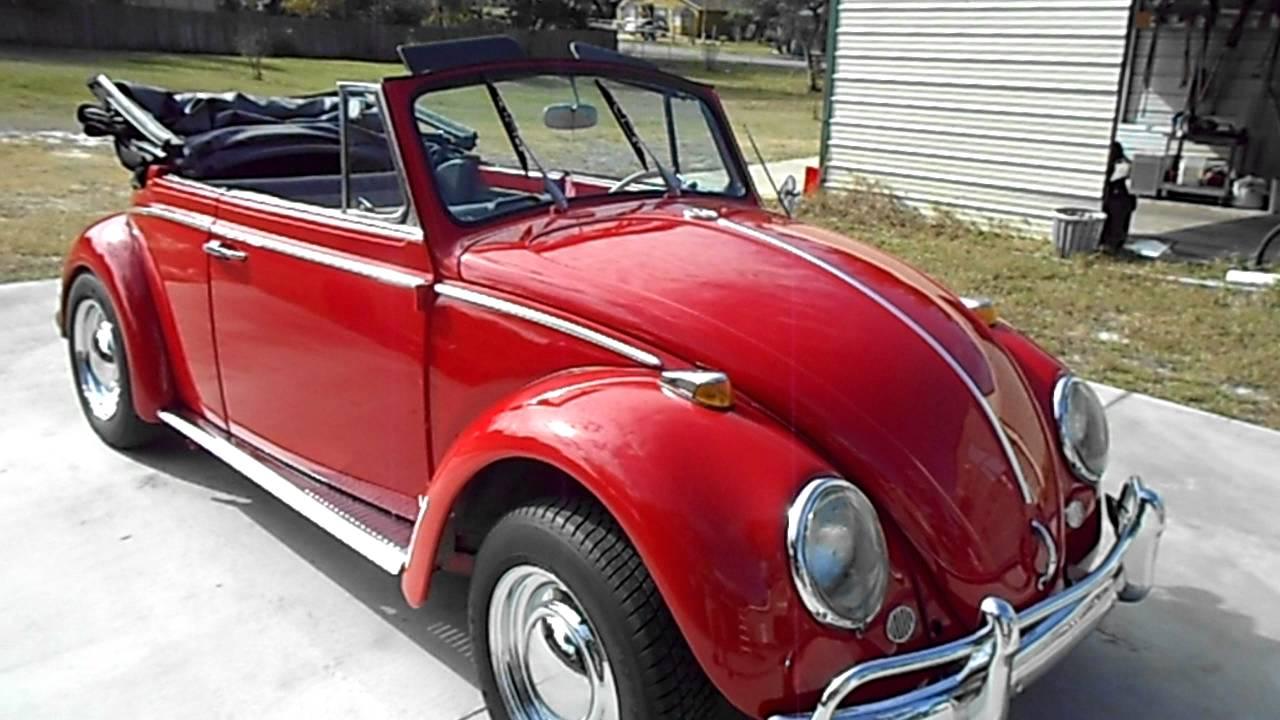 One Stop Motors - 1965 Volkswagen Bug Convertible - YouTube