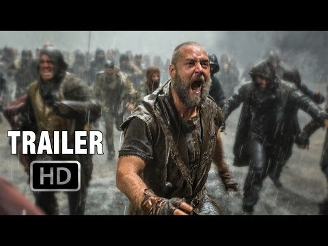 Noah Official Trailer #1 (2014)  | Russell Crowe, Emma Watson