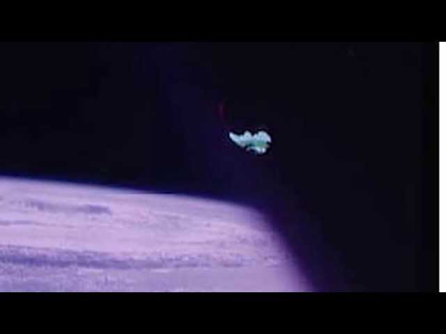 NO WAY!!? UFO Sightings NASA Hides UFO With DUCT TAPE! Must Watch 2015