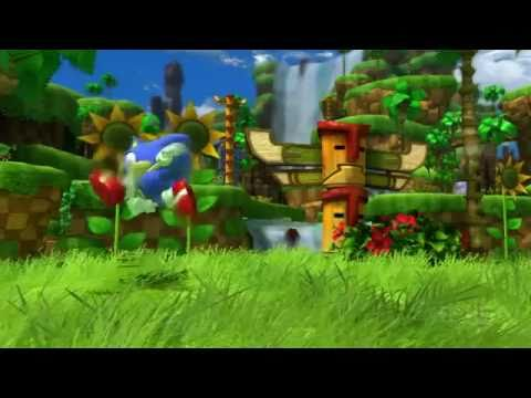 New Sonic Generations Gameplay 2011 (Green Hill Zone Footage)