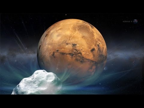 ScienceCasts: Collision Course? A Comet Heads for Mars