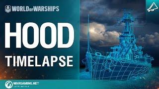 Timelapse: HMS Hood Model From Scratch
