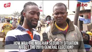 Which Presidential Candidate Can Properly Handle Nigeria's Security? |  Pulse TV | Vox pop