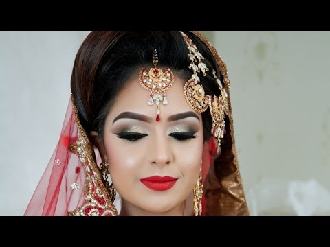 Asian Bridal Makeup   Traditional Look