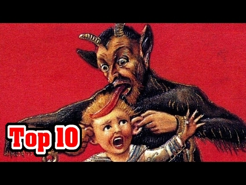 Top 10: Weird Christmas Traditions From Around The World