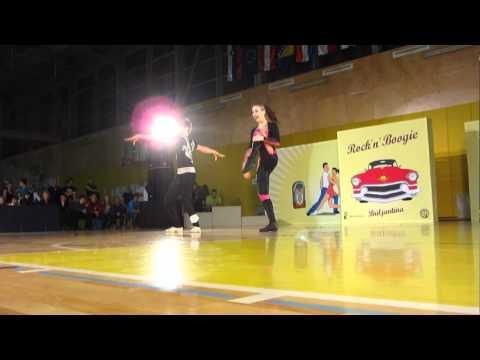 Alexandra Varga & Alex Deli - World Cup Ljubljana 2012