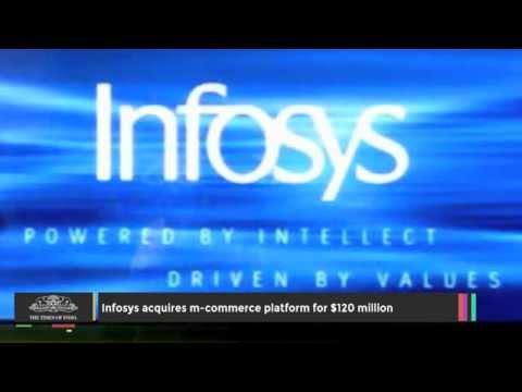 Infosys Acquires M-commerce Platform for $120 Million