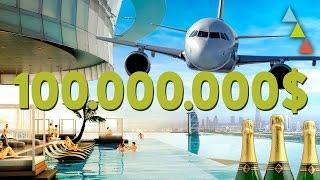 10 formas locas de gastarte 100 millones en un día