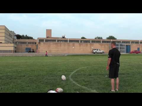 Rugby penalty kick instruction and technique