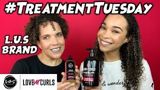 #TreatmentTuesday | LUS BRAND Deep Conditioner + *NEW* Elixir Oil