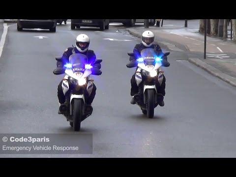Police Motorcycle Response Hostage Crisis Paris