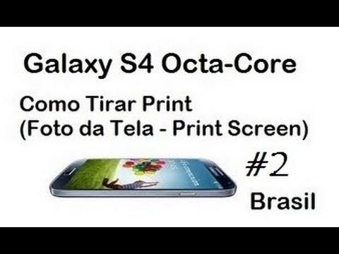 Galaxy S4 - Como Tirar Print (Foto da Tela / DavidTecNew) #2