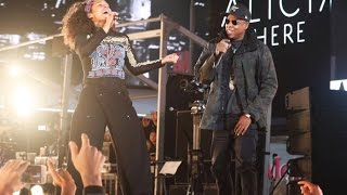 Download Lagu Alicia Keys & Jay Z - Empire State of Mind LIVE (HERE in Times Square) 2016 Gratis STAFABAND