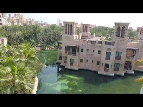 Arabian Venice at Al Qasr Hotel in Dubai البندقية العربية عند فندق القصر في دبي
