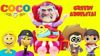 Greedy Abuelita Disney's COCO Greedy Granny Game Toy Surprises