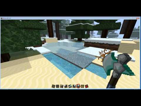 como instalar el pack de textura sphax PureBDcraft para minecraft 1.6.4 (TUTORIAL)